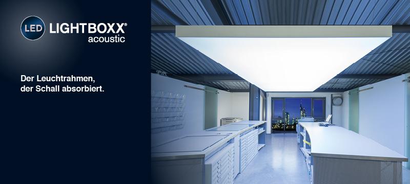 LED-LIGHTBOXX acoustic