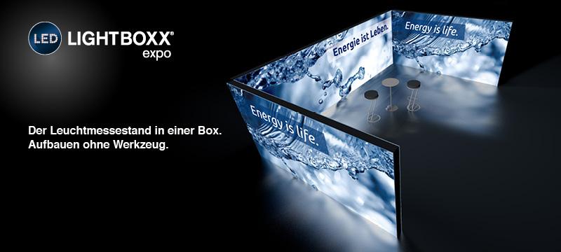 LED-LIGHTBOXX expo