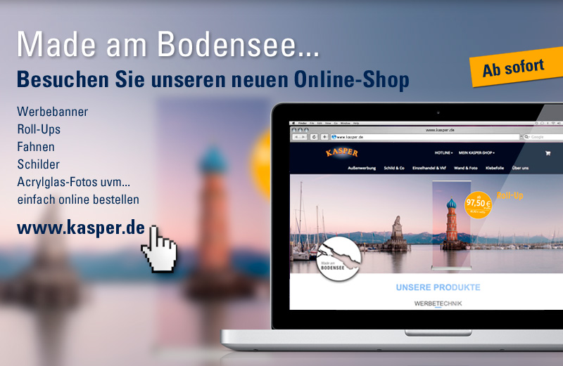 Unser neuer Webshop